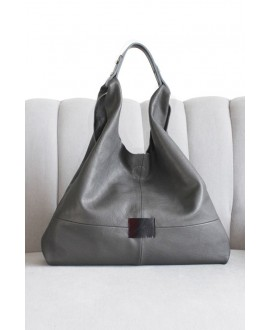 Helena shopper dark grey