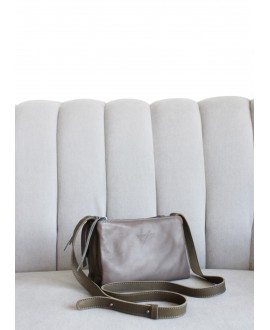 Triple cross body bag Olive