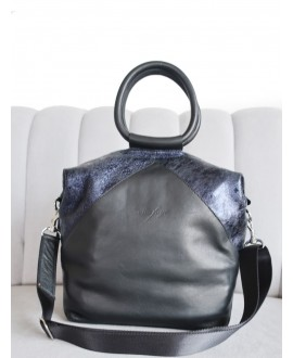 Natalie bag with metal handle
