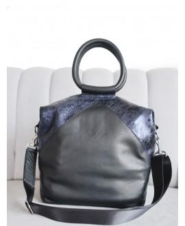 Natalie bag with metal handle