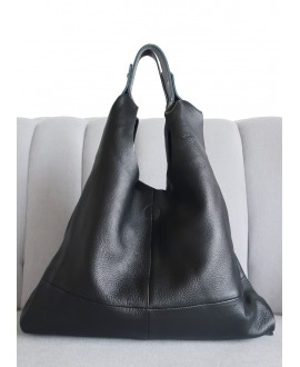 Helena black soft leather