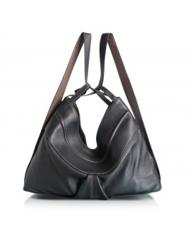 Layla bag in Black and taupe