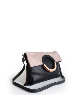 Mhauire bag in Blush and black
