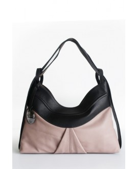 Layla bag blush mushroom and black