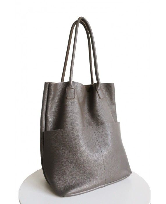 Saoirse tote in clay